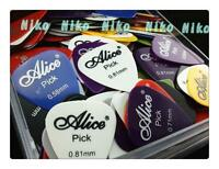 30pcs Alice Acoustic Electric Guitar Picks Plectrums 6 Thickness Assorted