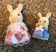 sylvanian families figures Rabbit Bridesmaids 1985 Wedding Celebration