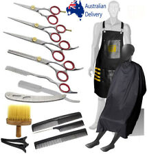 14 pcs Professional J2 barber Haircutting Thinning Hairdressing scissors kit