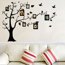 Family Photo Frames Tree Birds Fly Wall Stickers Home Room Decor~