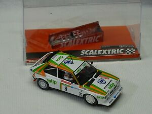 SCX FOUR WHEEL DRIVE TIP TOP RALLEY  1/32  ANALOG SLOT Car  NEW MINT WITH BOX