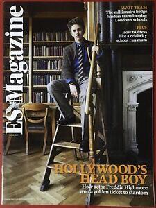 ES magazine FREDDIE HIGHMORE TYGER DREW-HONEY Vintage UK Issue July 2011 New