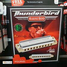 Hohner Marine Band Thunderbird Harmonica  - LOW Bb