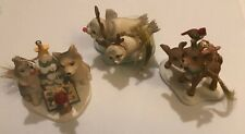 Bradford Exchange Let Heaven And Nature Sing Ornament Lot - First Set w/ CoA
