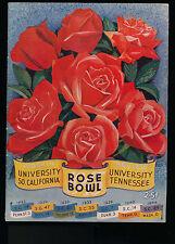 EX PLUS 1/1/ 1945 Rose Bowl Program Tennessee vs Southern California