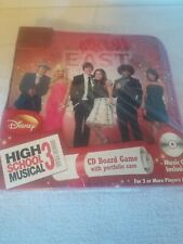 Disney High School Musical 3 CD Board game + Music CD Brand New in Box
