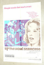 Up the Down Staircase One sheet Movie Poster  1967