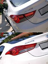 (Fit: Hyundai 2011-13 Elantra Avante MD) LED Rear Tail Lights Lamp Module Set