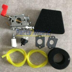 Carburetor for Zama C1U-W32 Poulan PPB32SST PP446ET PPB300E PPB250E Gas Trimmer