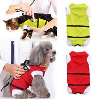 Pet Surgery Clothes Medical Dog Shirt Vest Rehabilitation Injury Disease Protect