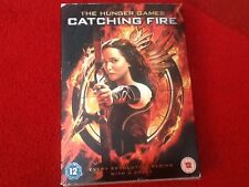 Hunger Games - Catching Fire (DVD) new  sealed cardboard sleeve 12