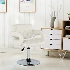 WestWood SC02 Adjustable Barber Chair - White