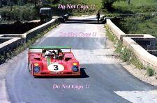 Arturo Merzario Ferrari 312 pb Targa Florio 1973 fotografía