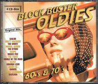 (4-CD's) Block Buster Oldies - 60's & 70's - Harpo, Peter Kent, Johnny Wakelin