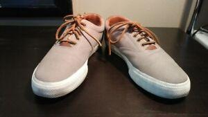 Polo By Ralph Lauren Vaughn canvas/leather shoe 10.5 men