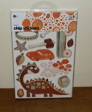 Basic Grey ARCHAIC Chipboard Stickers BOY Dinosaur EXPLORE Plane TRUCK Wagon ++