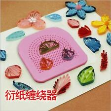 Quilling Board with Pins Storage Grid Guide for Paper Crafting Winder SL