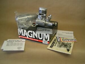 """NEW"" MAGNUM 61 / Pro SE, Schneurle Port, ball bearing, ringed, muffler, manual"