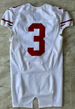 2014 NFL San Francisco 49ers Road Team Issued Game Jersey Player #3 Nike Size 42