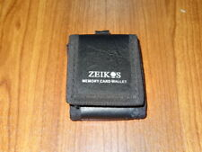 Zeikos wallet Mini Case Soft Pouch for Memory Card SD CF wallet Keychain