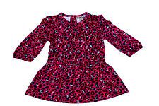 Designer Cotton baby frock for Kids Girls dress clothing| Pink Color Size 6 m