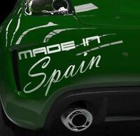 Auto Aufkleber Spanien Autosticker Decals Spain Tuning Seat Aufkleber OEM JDM