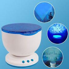 Proyector de luz LED sensorial Música Relax Calmante autismo juguete azul noche de proyección