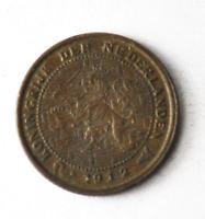 1912 Netherlands 1/2 Half Cent Bronze Coin KM# 138 Lion