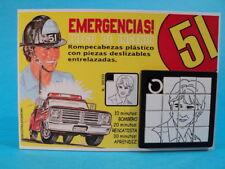 EMERGENCY! * JOHN CAGE (Randolph Mantooth) SLIDE SLIDING PUZZLE GAME ARGENTINA