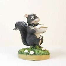 "Fitz &Floyd Charming Tails ""The Ring Bearer"" 82/104, Skunk, Wedding Ring Pillow"