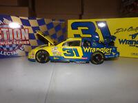 1/18 DALE EARNHARDT JR #31 WRANGLER JEANS ROOKIE 1997 ACTION NASCAR DIECAST