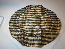 Avon Lace Print Jewelry Pouch draw string black gold F3484251 NEW;;