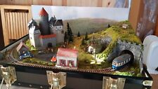 More details for briefcase railway layout with train in h0m scale by mountain lake model railways