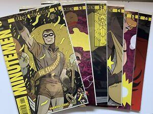 Before Watchmen: Minutemen #1-6 (DC Comics, 2012) Complete Set