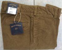 BRAND NEW-Bills khakis M2-15KH Size 38X30 PLAIN 15 WALE CORD KHAKI MSRP $165