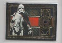 Topps Star Wars The Last Jedi Medallion Trading Card Captain Phasma