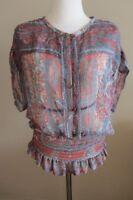 Isabel Marant Etoile silk top size 40, AUS 8-10, NWT
