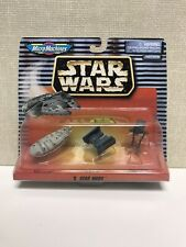 STAR WARS V MICRO MACHINES Rebel Transport Tie Bomber Imperial AT-ST Galoob