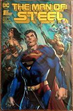 DC Comics MAN OF STEEL #1 GOLD FOIL Variant NM SUPERMAN BATMAN WONDER WOMAN