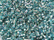 TOHO 11/0 Hexagon 2,2mm 10g 20g Blaukristall irisierend Bronze / Gold Code: 995