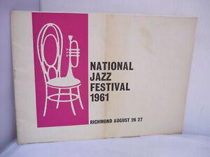 National Jazz Festival 1961 - August - Richmond