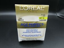 Loreal Age Perfect Anti-Sagging Hydrating Moisturizer soy seed 2.5oz. Day Cream