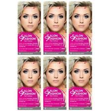6 x Derma V10 Salon Fashion Permanent Hair Colour 11 Platinum Blonde