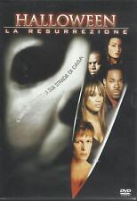 Halloween. La resurrezione (2002) DVD