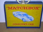 Vintage Collectable Matchbox Series 41 Collectors Case W/ lot 32 1960's models