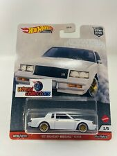 '87 Buick Regal Gnx * 2020 Hot Wheels Car Culture Power Trip Case T