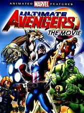 NEW DVD // ULTIMATE AVENGERS / THE MOVIE // comes with SLIP COVER