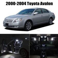 White LED Lights Interior Package for Toyota Avalon 2000-2004 11PCS LED Lights