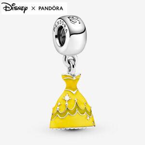 ALE S925 Genuine Pandora Disney Beauty and the Beast Belle's Dress Charm + BOX