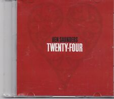 Ben Saunders-Twenty Four Promo cd single
